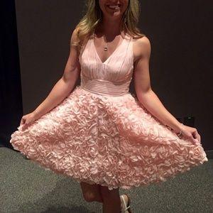 Blush Semi formal dress